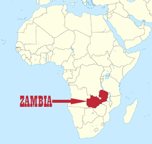 Zambiai map